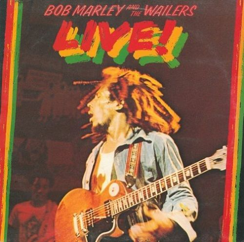 BOB MARLEY AND THE WAILERS Live Vinyl Record LP Island 1975